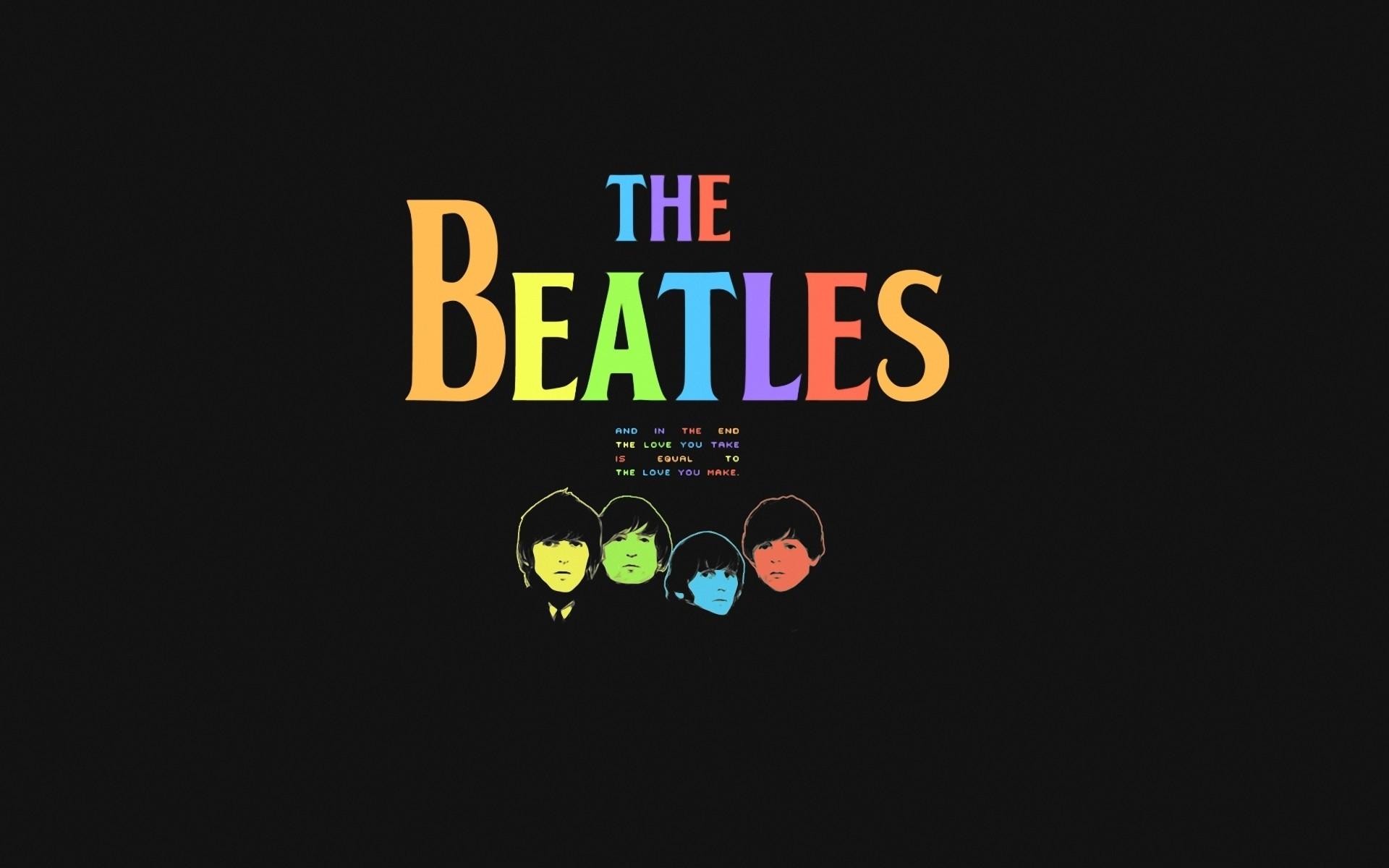 Los Beatles pop art - 1920x1200