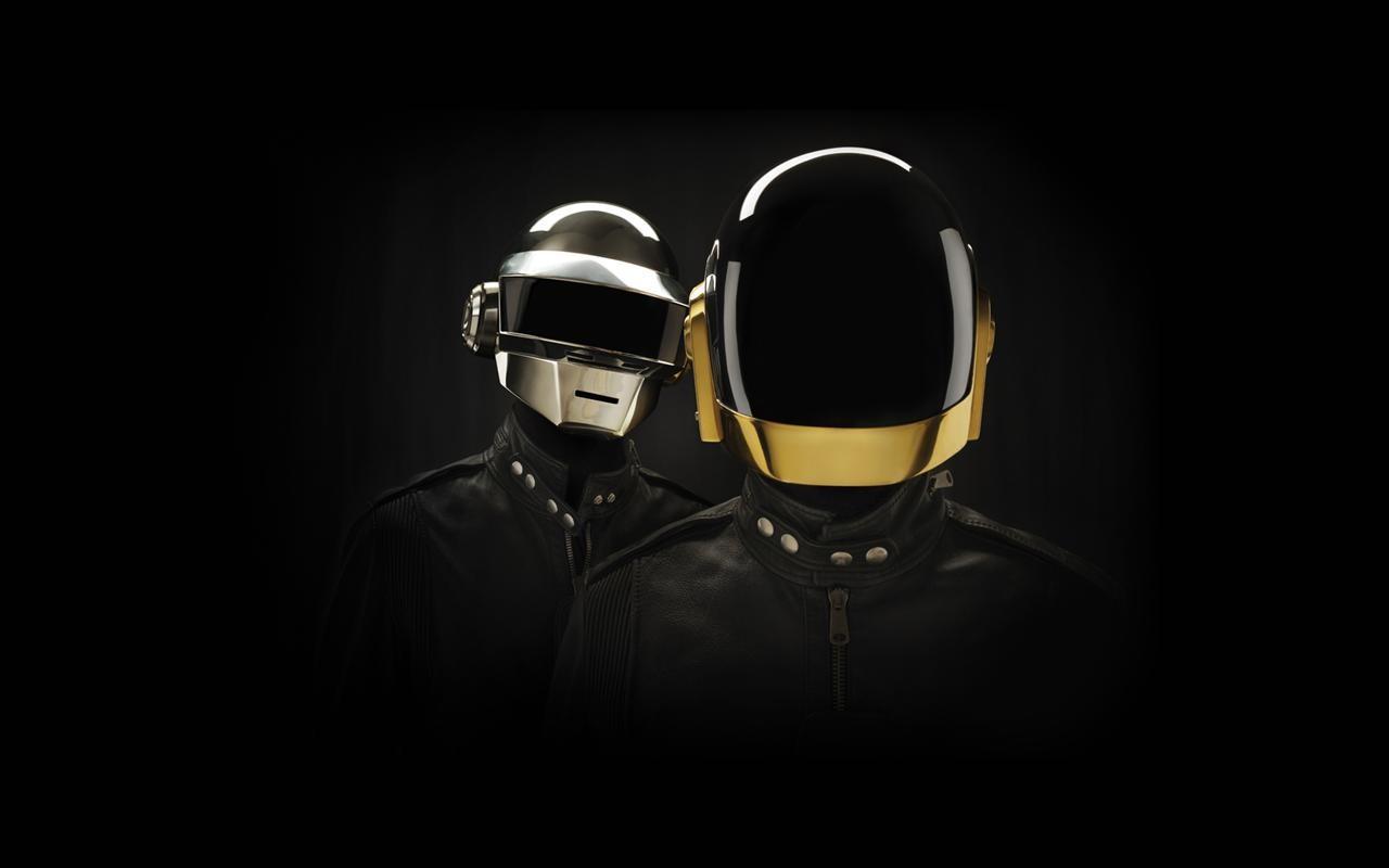 Los cascos de Daft Punk - 1280x800
