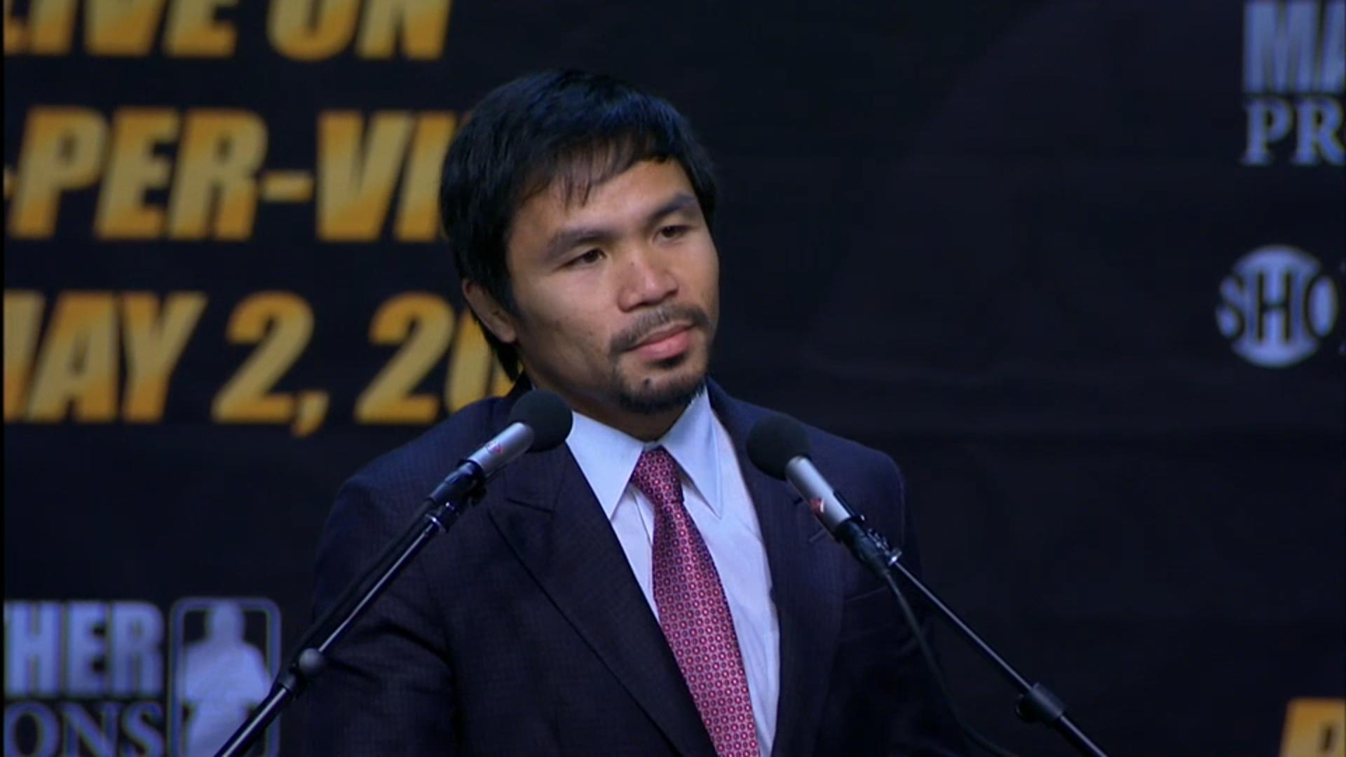 Manny Pacquiao antes de la pelea - 1920x1080