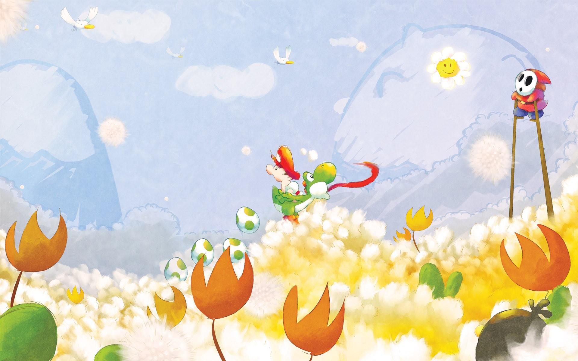 Mario bros retro - 1920x1200