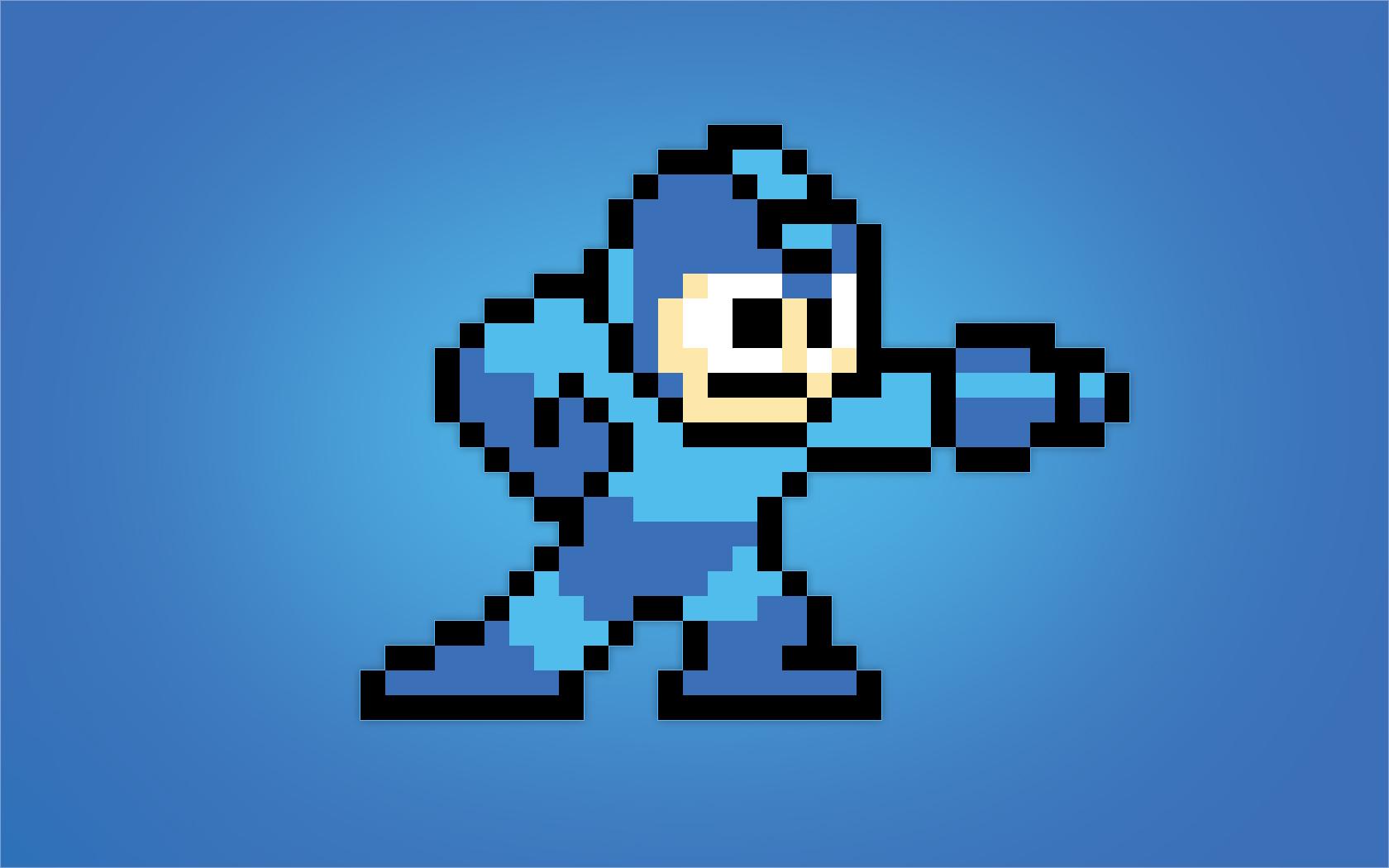 Megaman Pixelado - 1680x1050