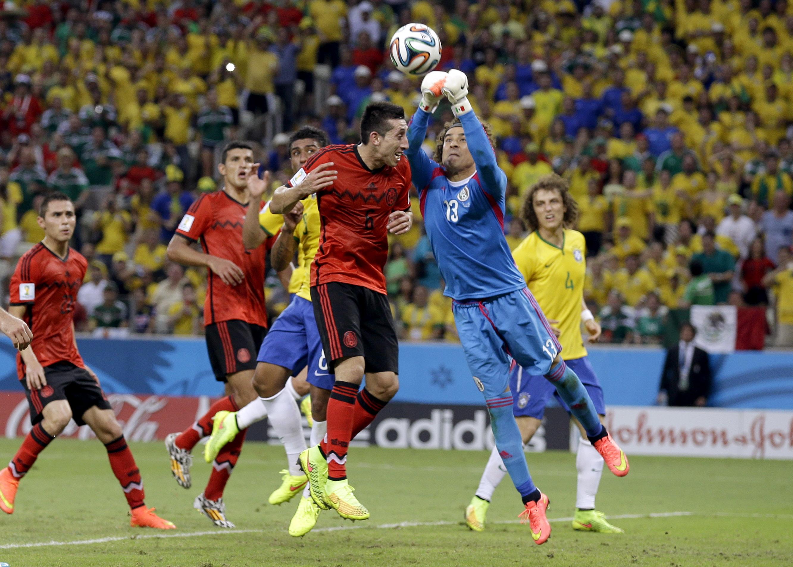 Mexico VS Brasil 2014 - 2665x1906