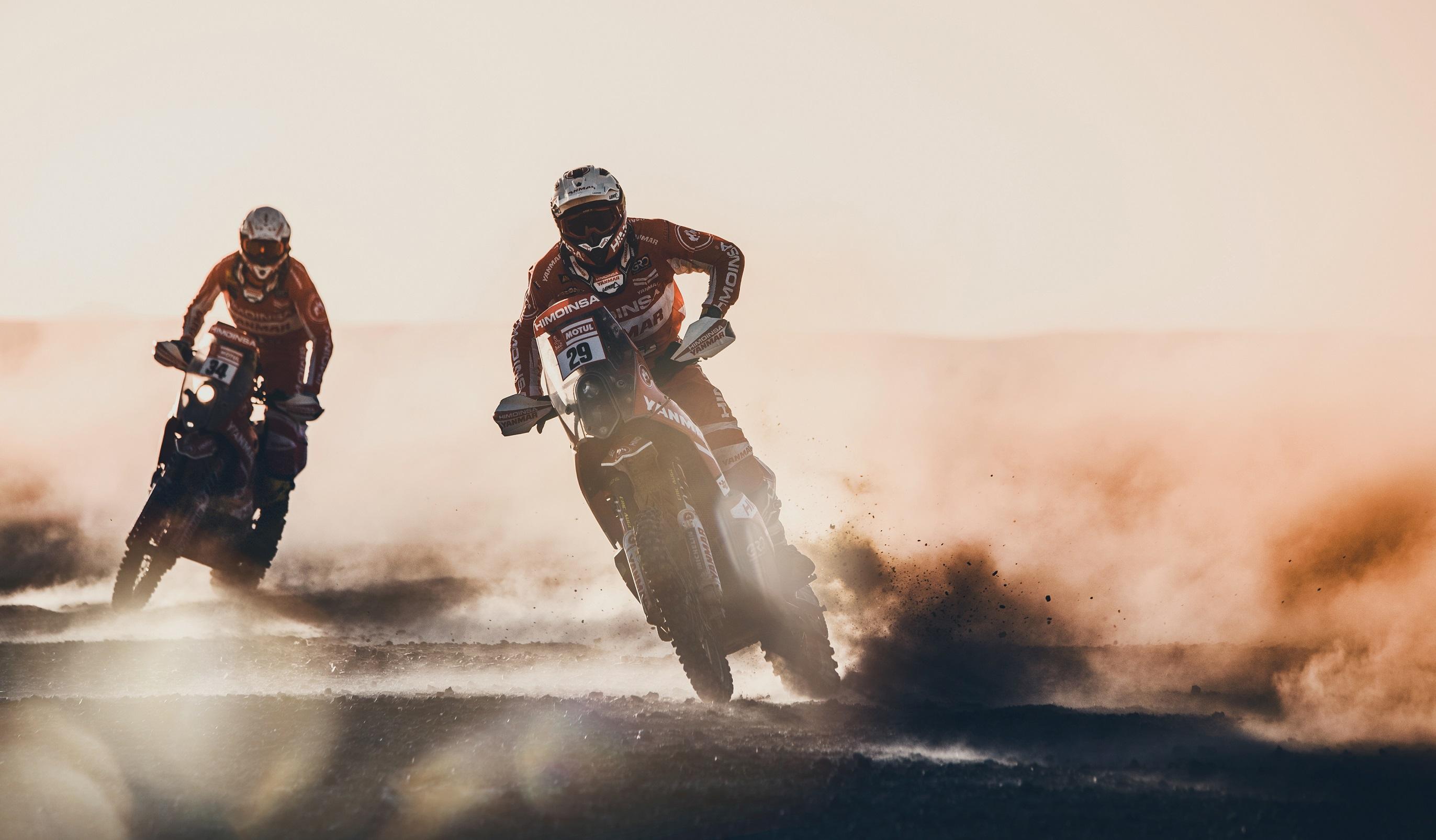 Motos en el Dakar 2018 - 2744x1606