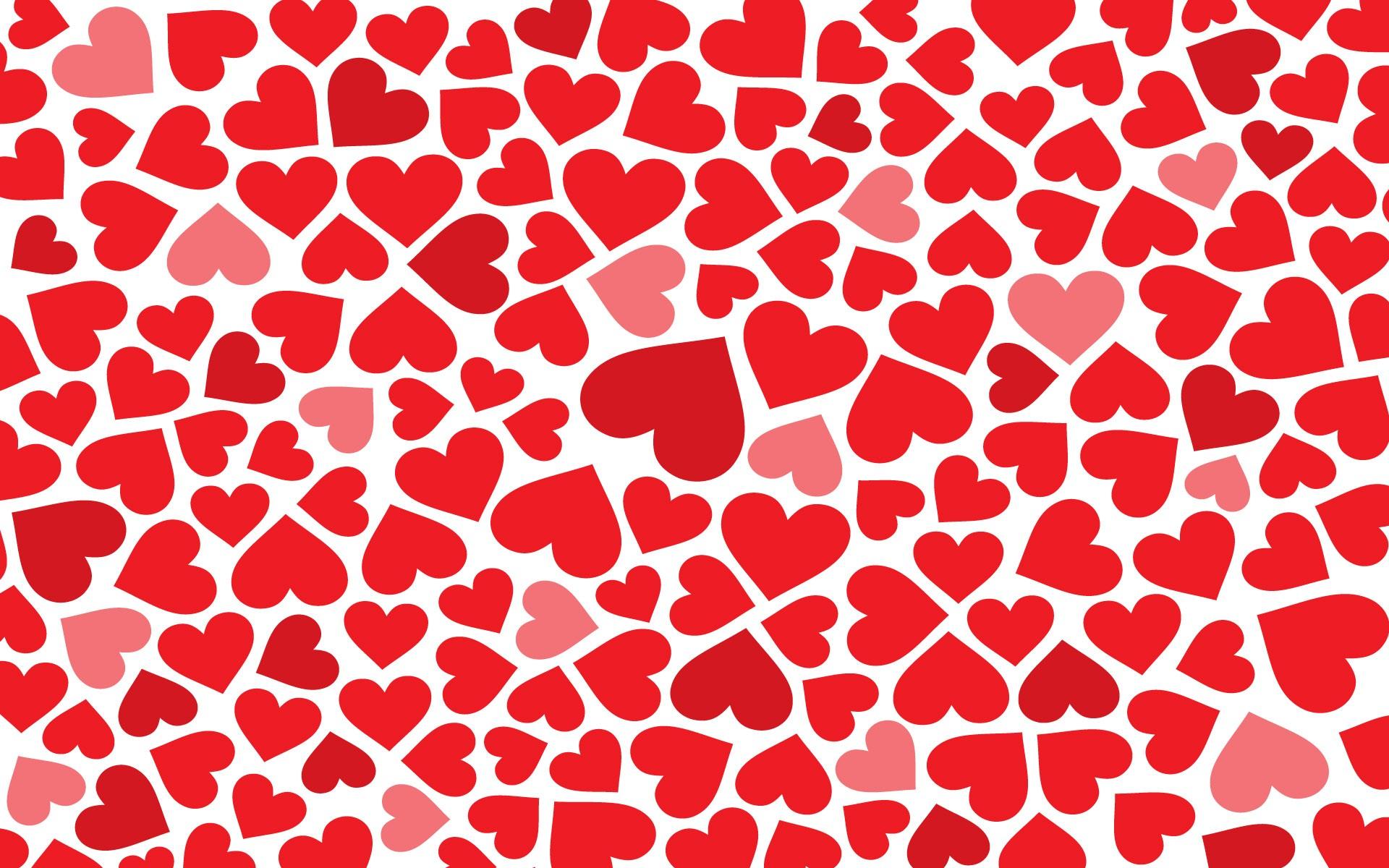 Muchos corazones - 1920x1200