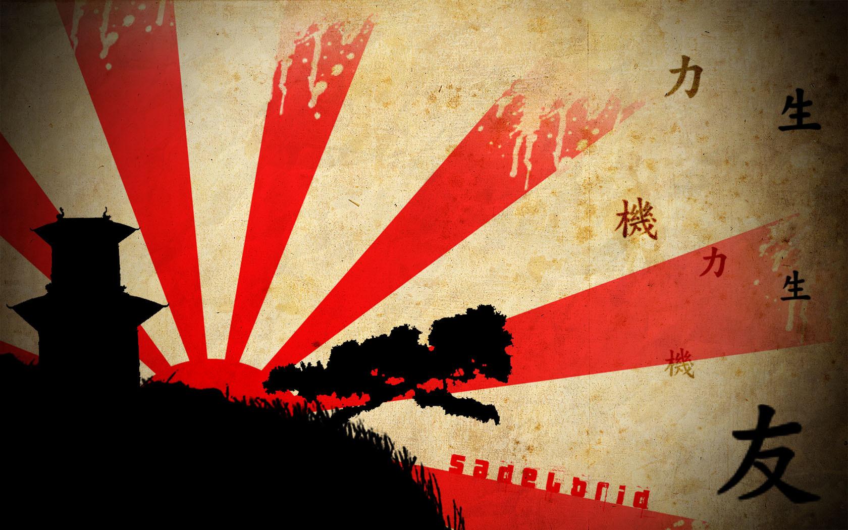 Mundo chino abstracto - 1680x1050