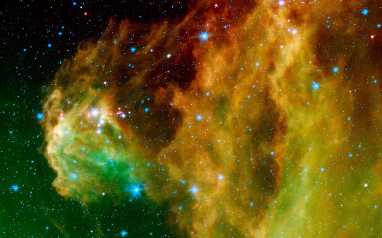 Nebulosas del espacio - 1280x800