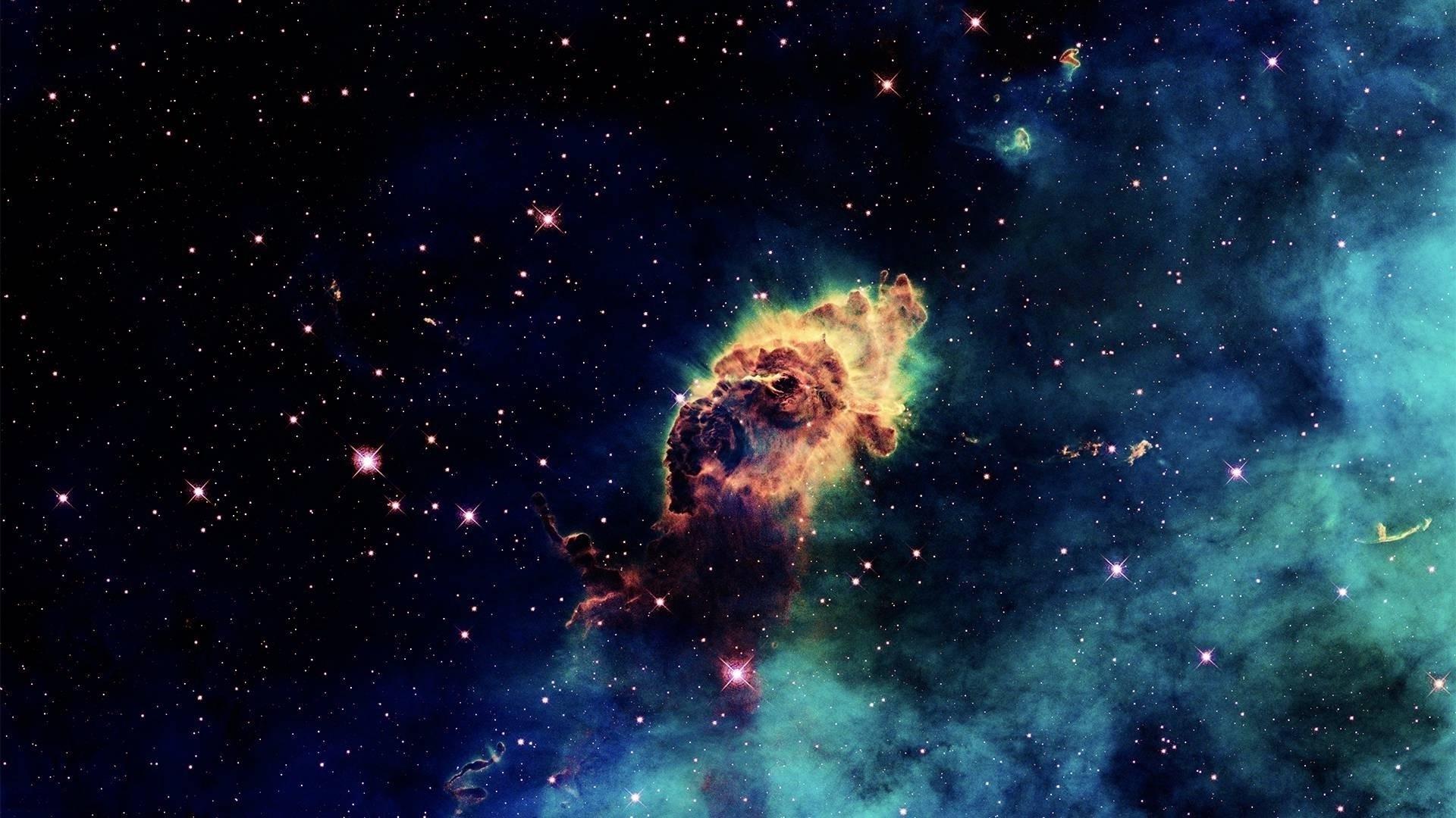 Nebulosas espaciales - 1920x1080