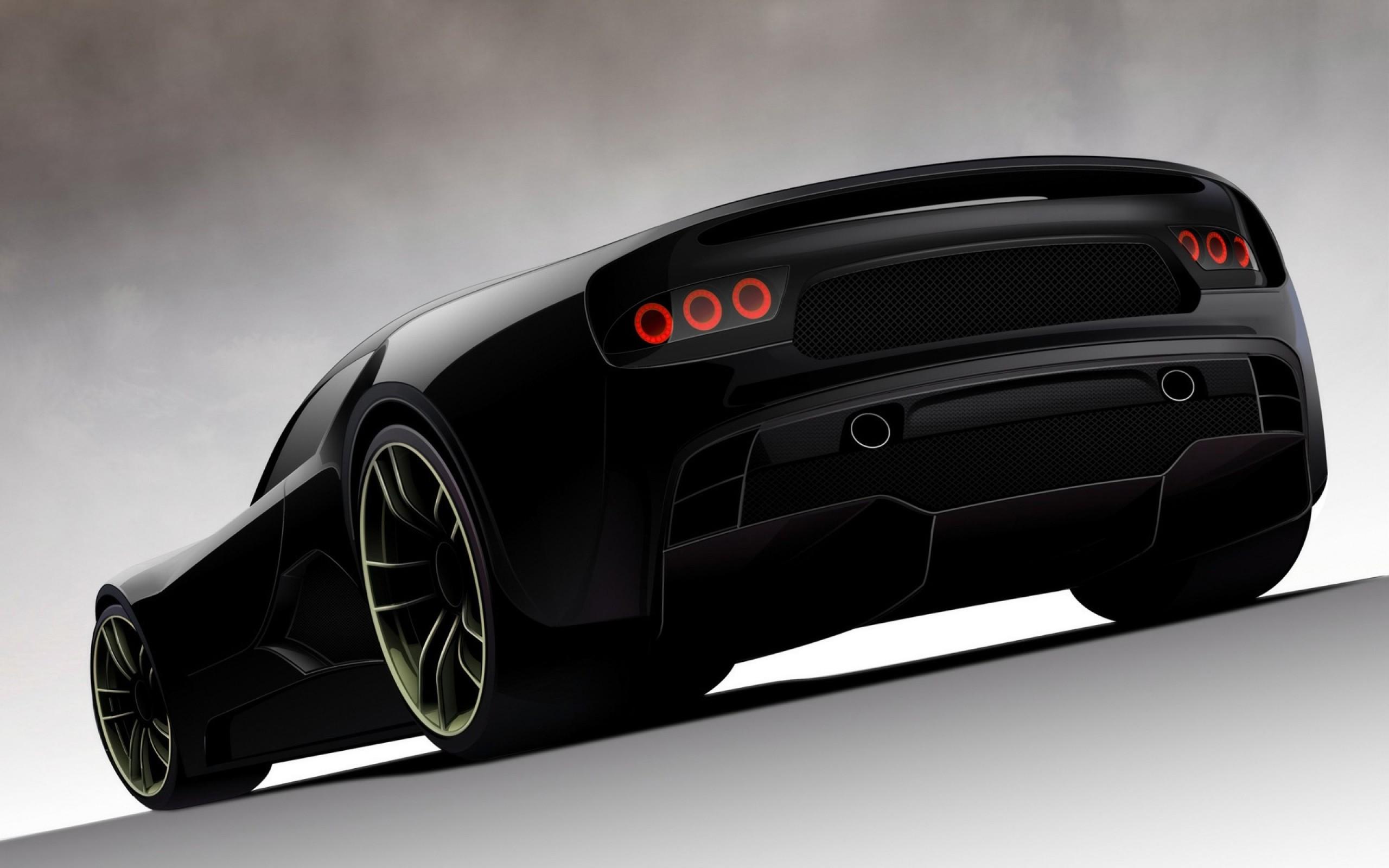 Nuevo concept de auto - 2560x1600