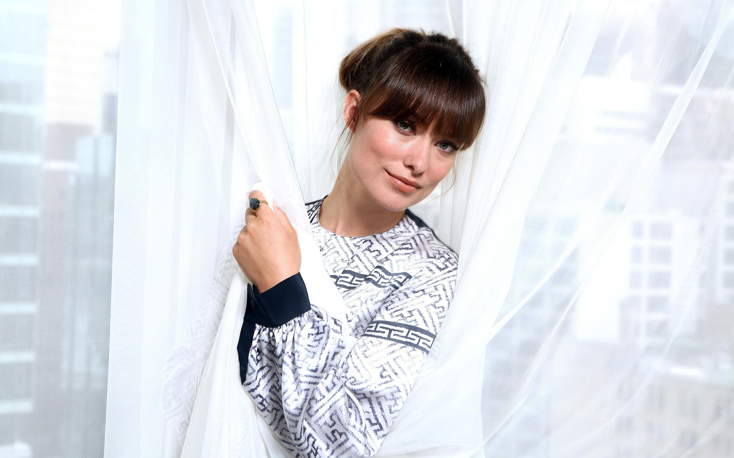Olivia Wilde rostro - 2560x1600