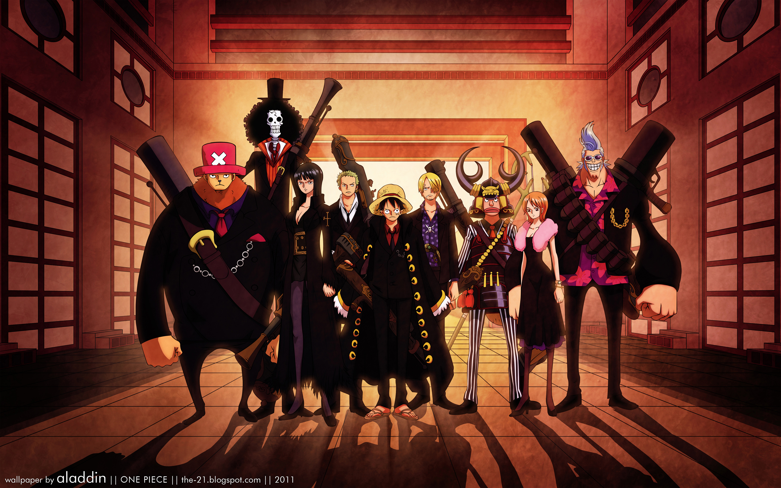 One Piece (Anime) - 2560x1600