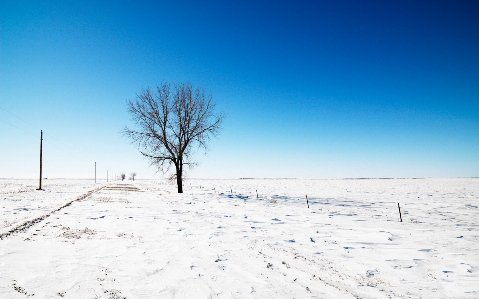Paisajes con nieve - 1680x1050