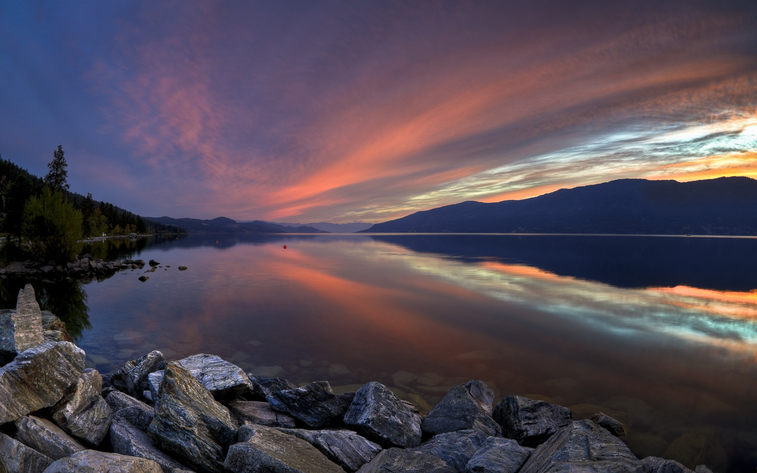 Paisajes de lagos - 2560x1600