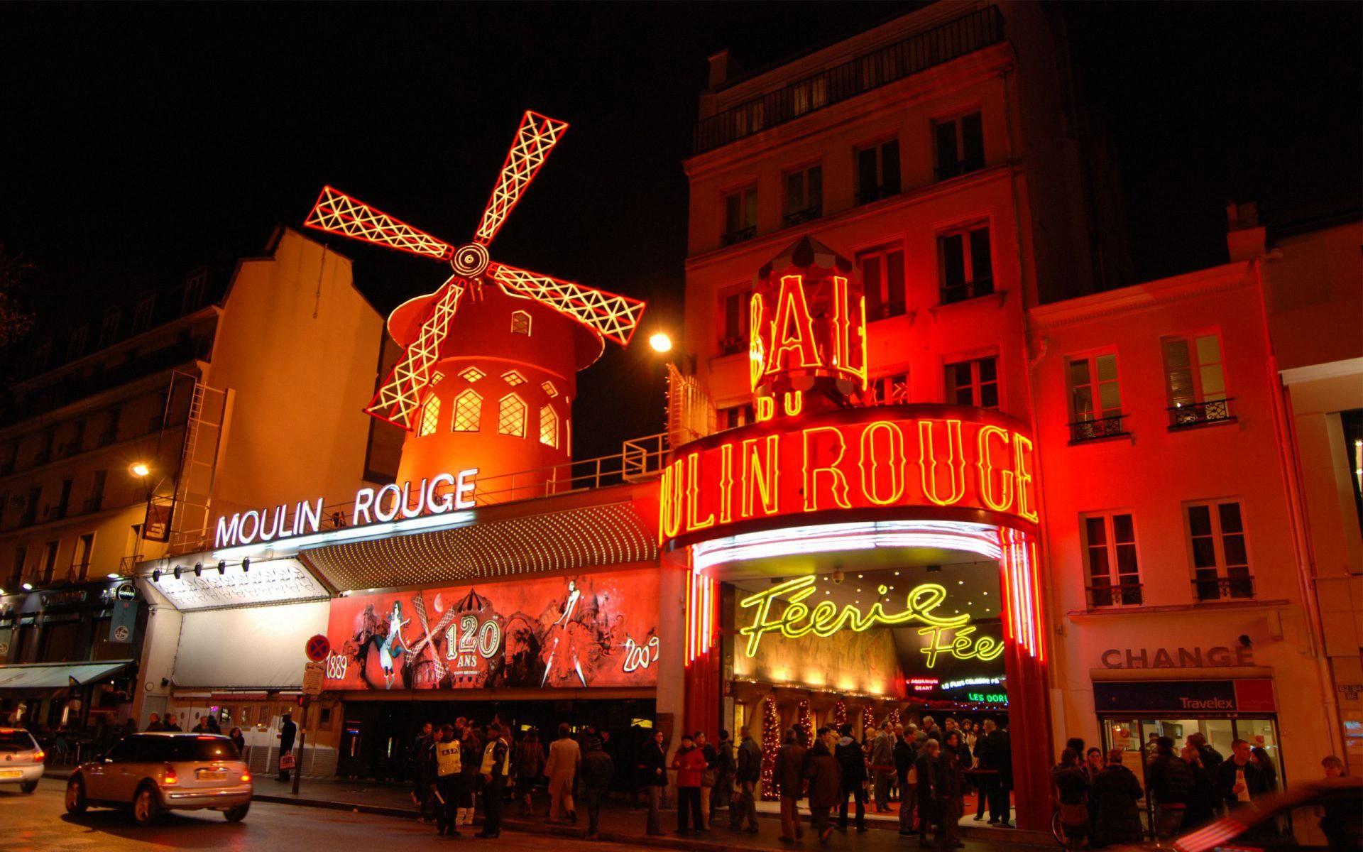Paris Moulin Rouge - 1920x1200