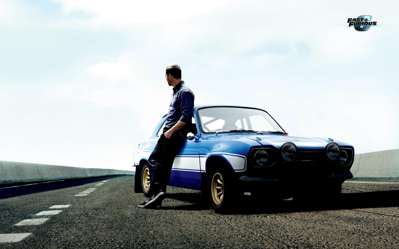 Paul Walker y su auto - 2880x1800