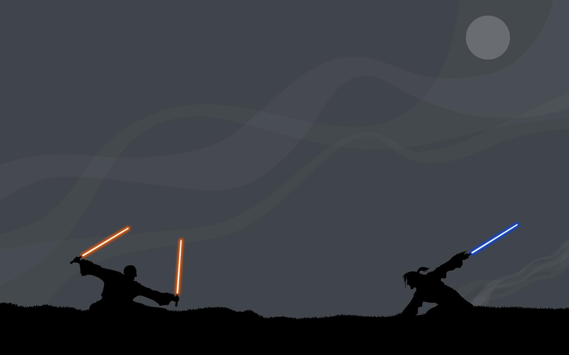 Pelea en Star Wars - 1920x1200