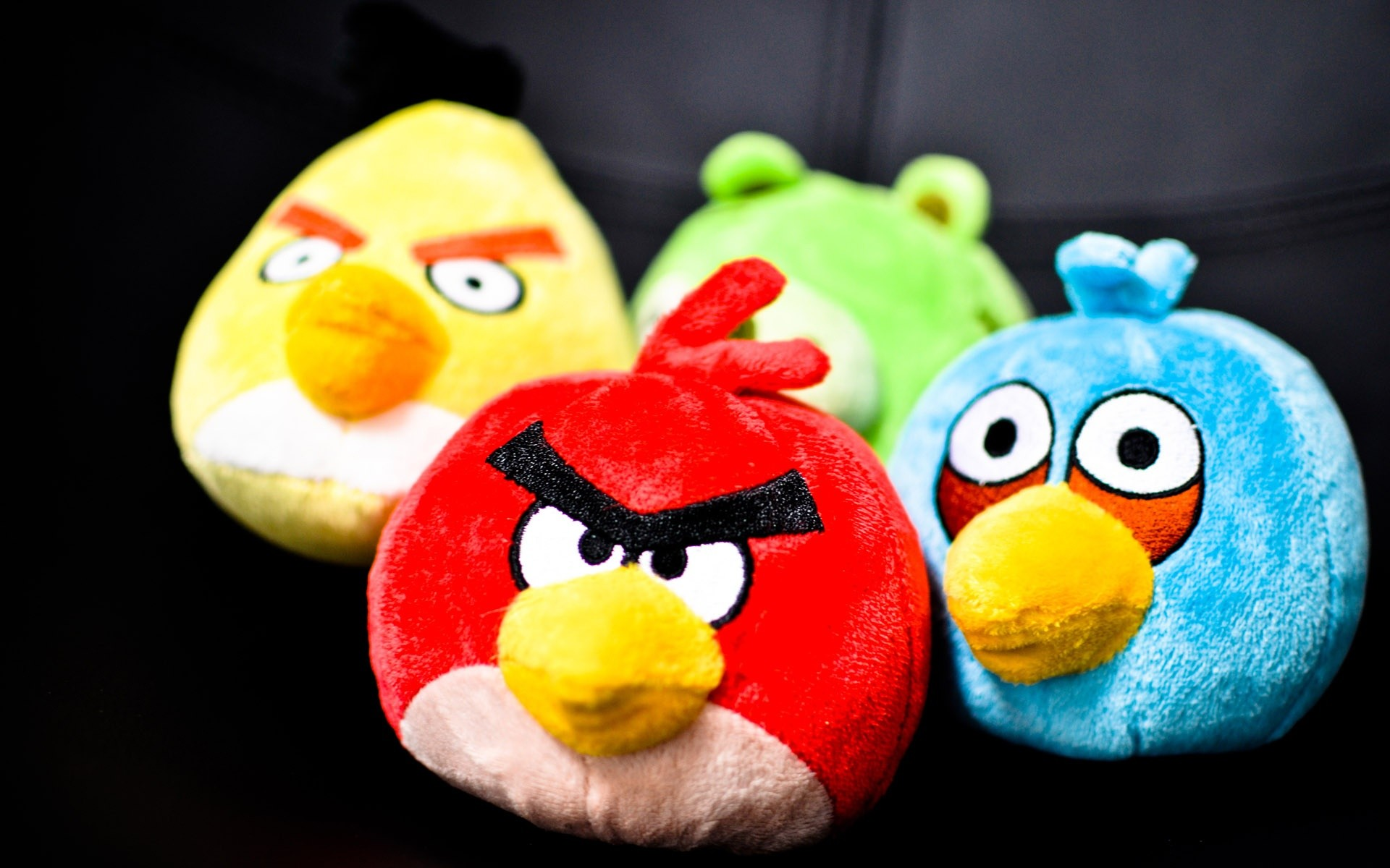 Peluches de Angry Birds - 1920x1200