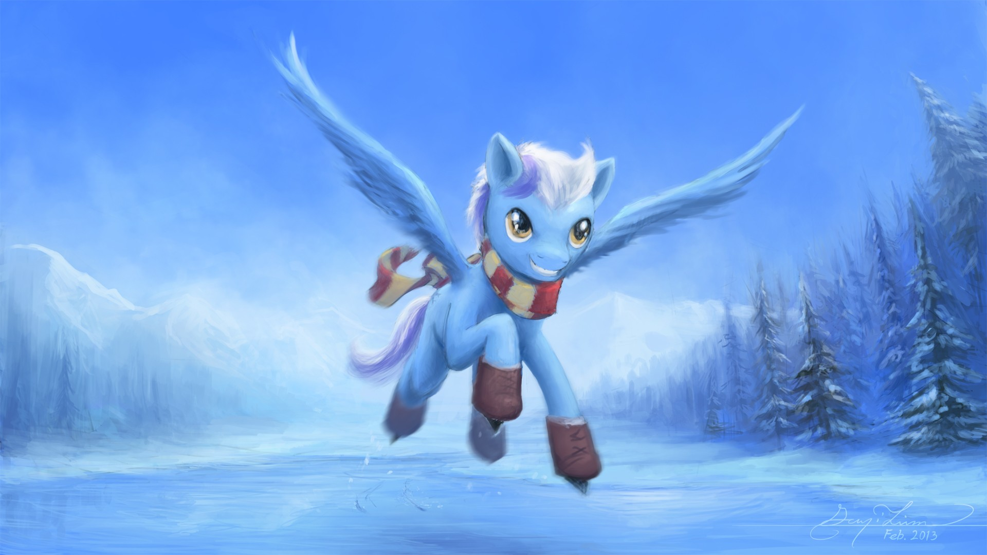 Pony con alas - 1920x1080