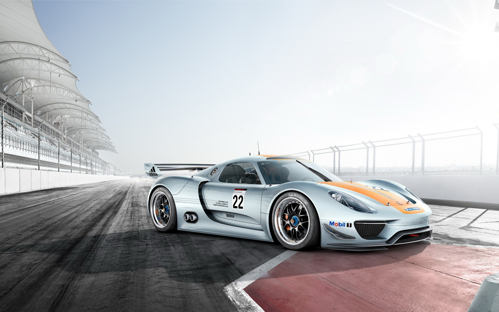 Porsche 918 - 1920x1200