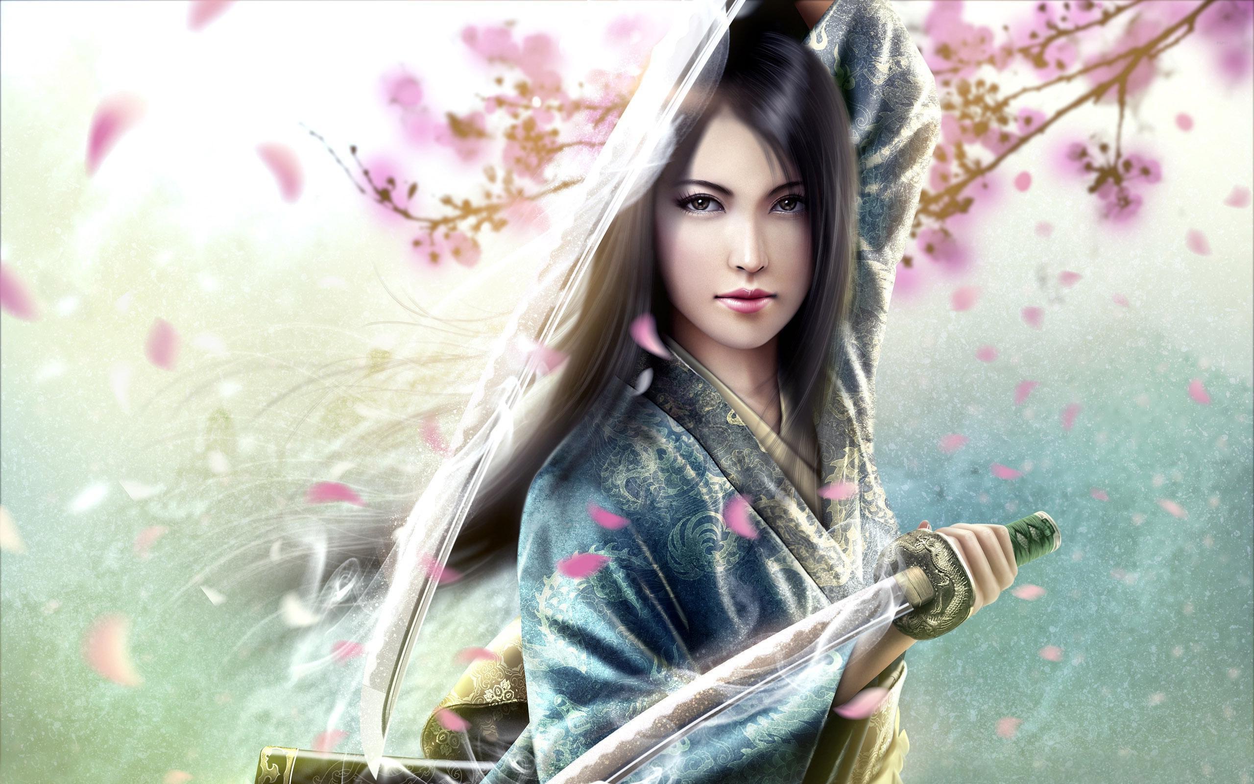 Princesa Samurai - 2560x1600