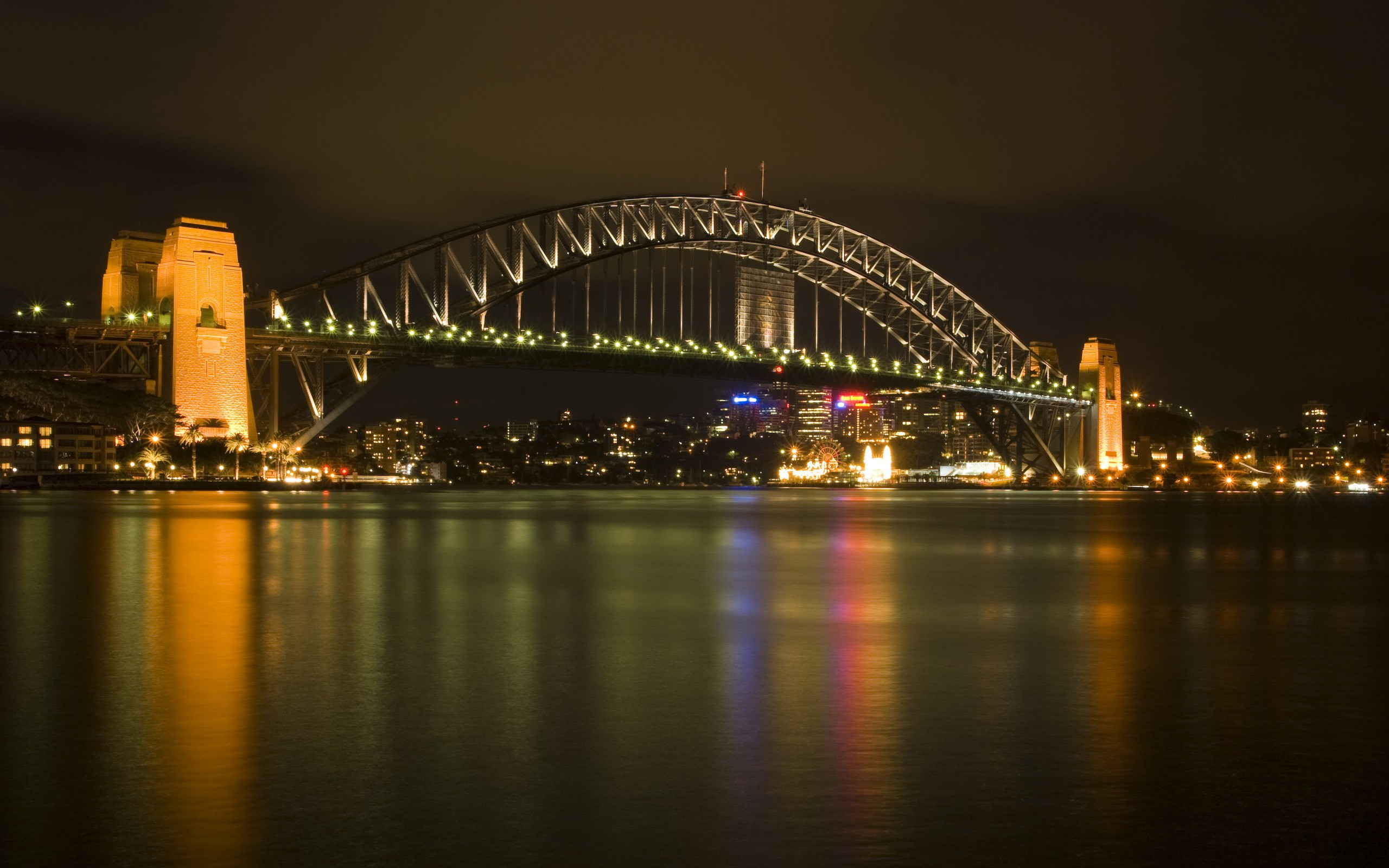 Puente en ciudad - 2560x1600