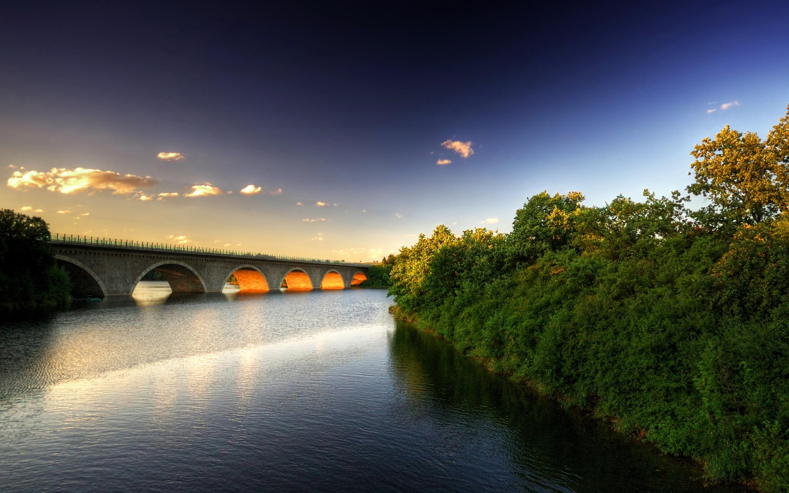 Puentes de piedra bellos - 2560x1600