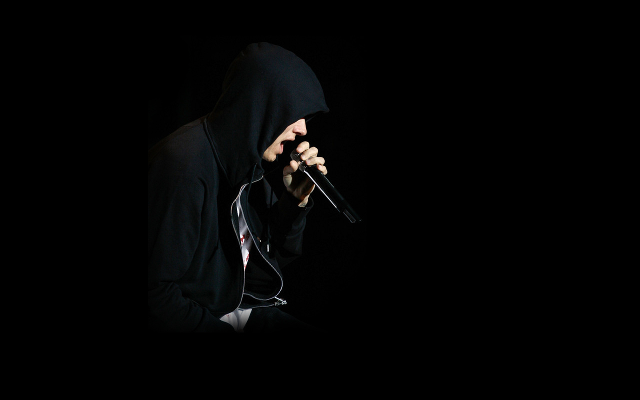 Raperos de hip hop cantando - 1280x800