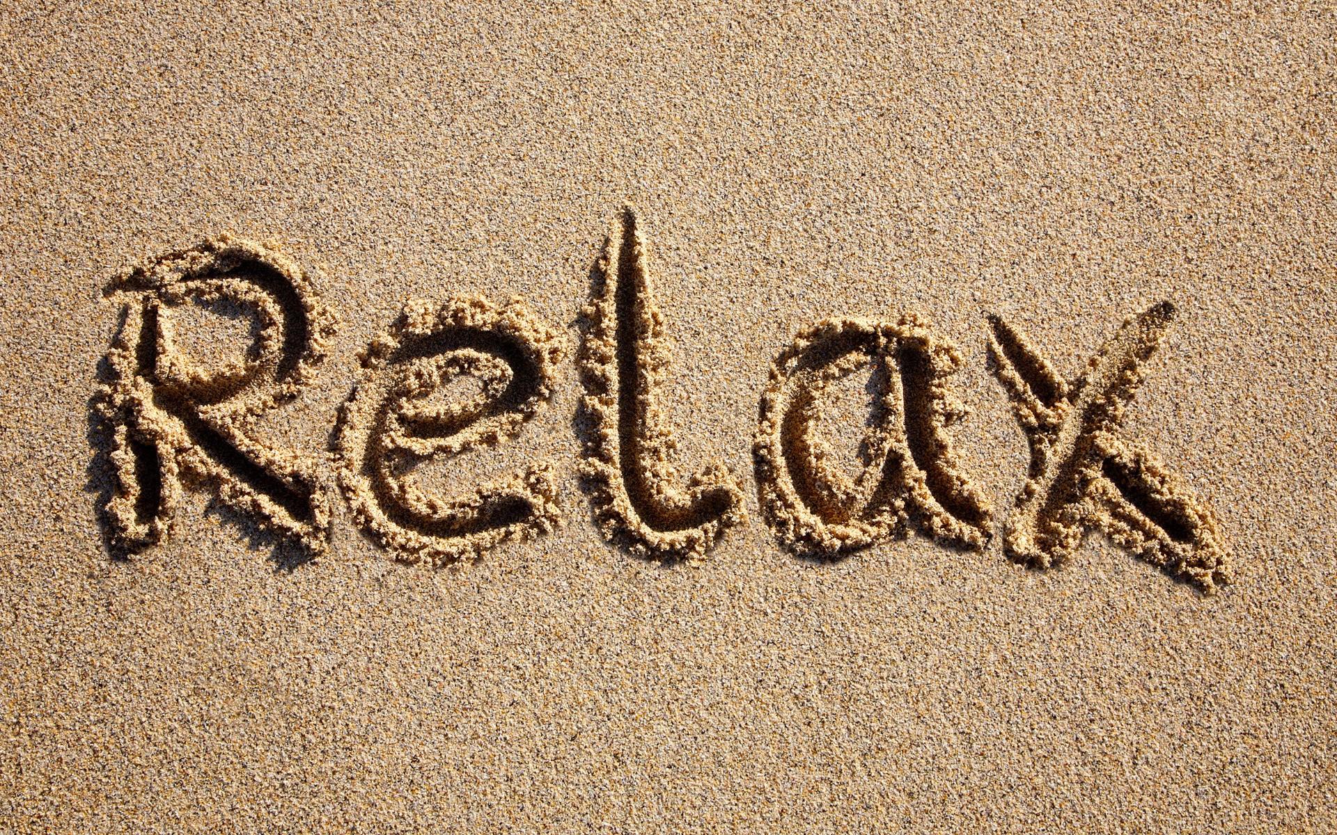 Relajacion en la playa - 1920x1200
