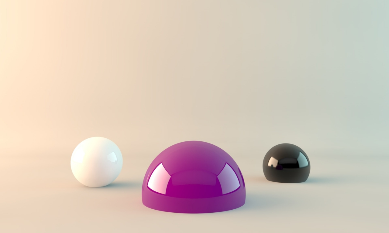 Abstracto objetos - 1280x768