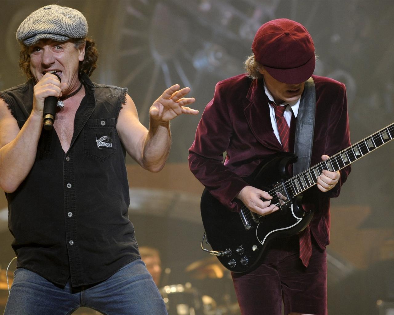 AC / DC en concierto - 1280x1024