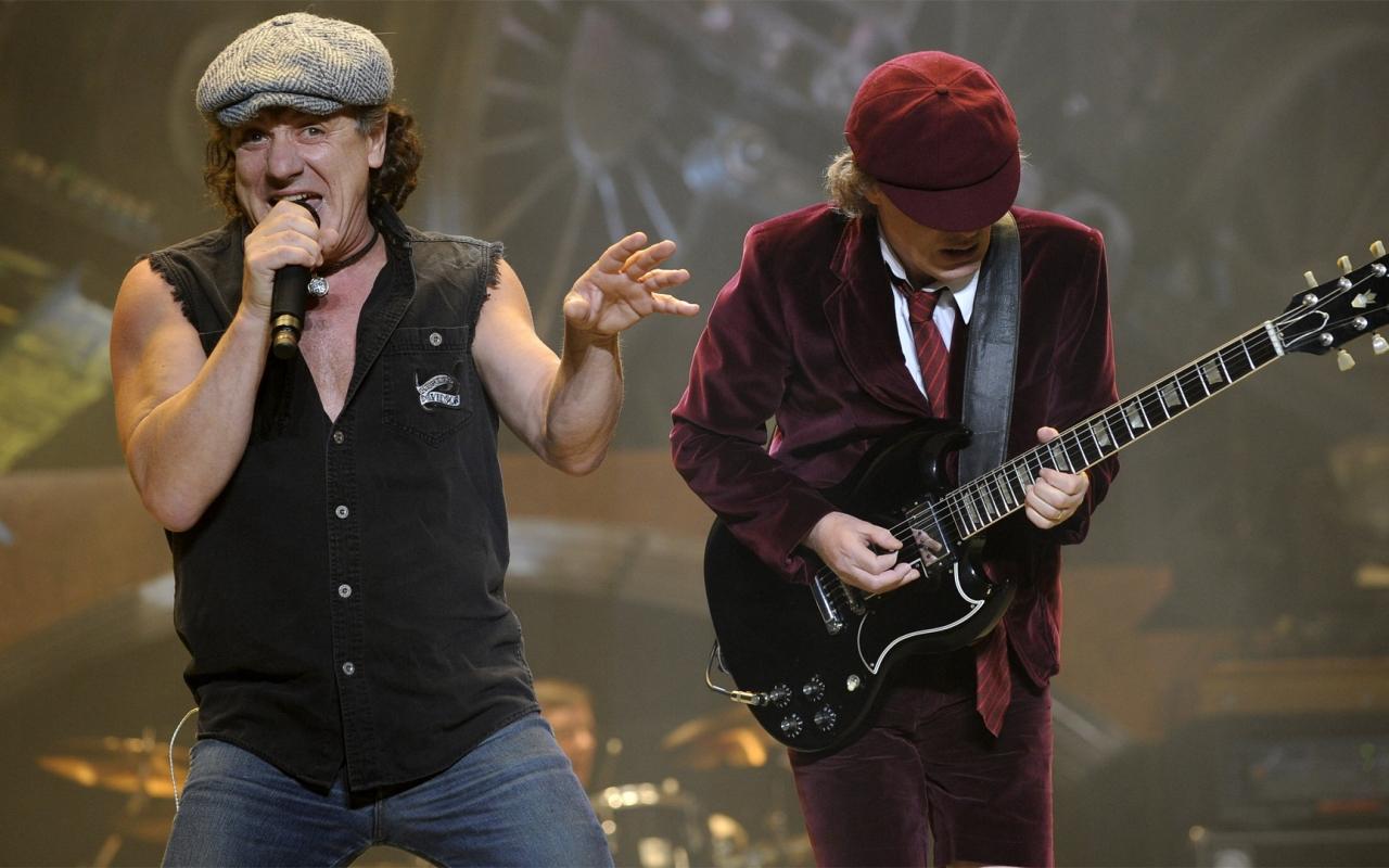 AC / DC en concierto - 1280x800