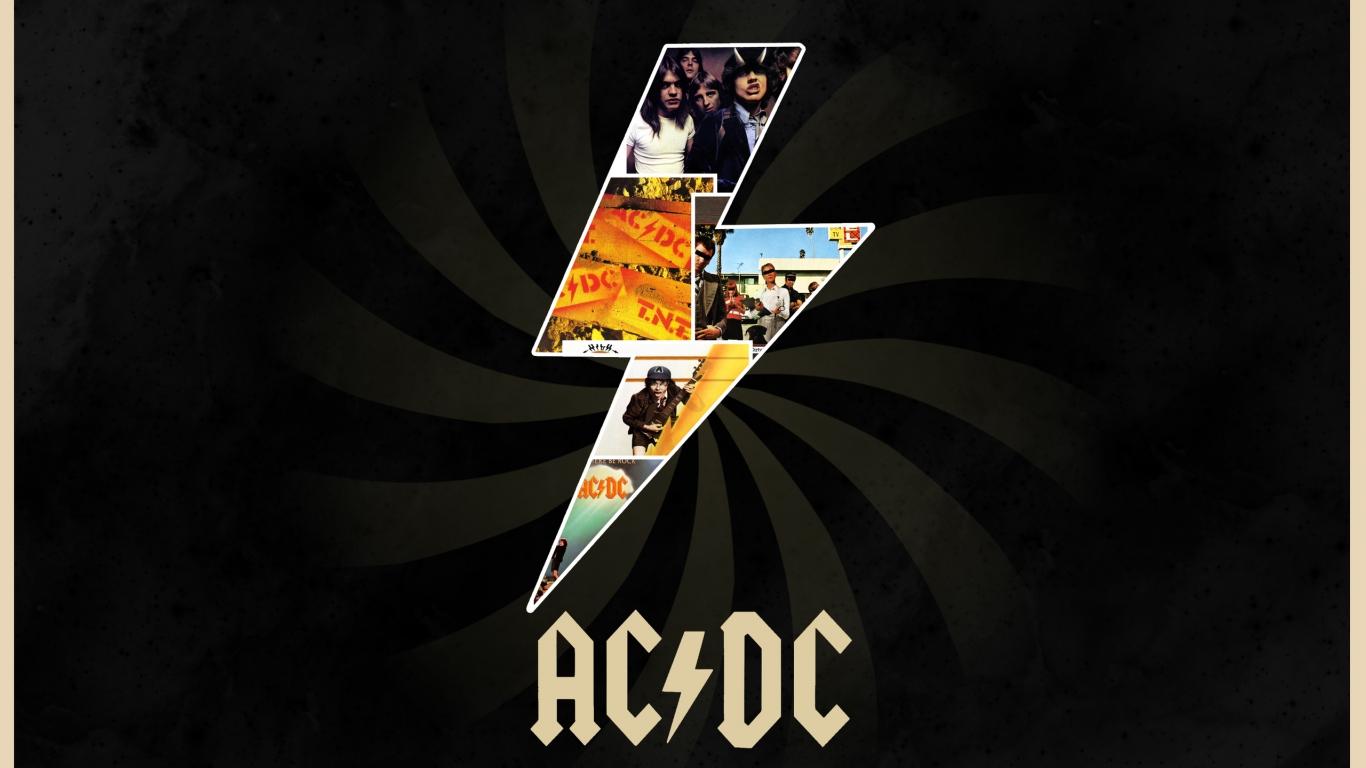 AC / DC Rock - 1366x768