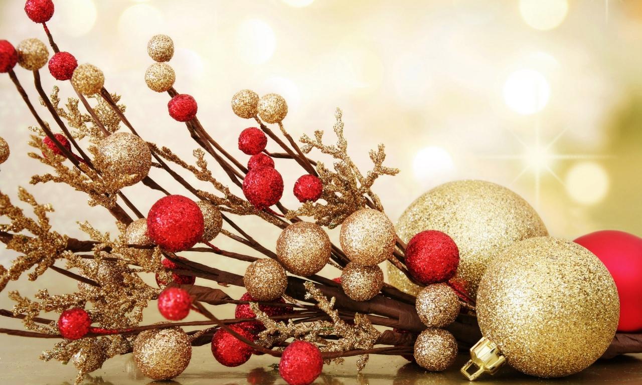 Adornos de navidad para oficina - 1280x768