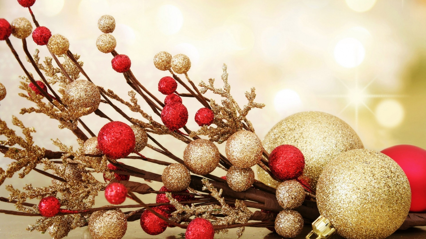 Adornos de navidad para oficina - 1366x768