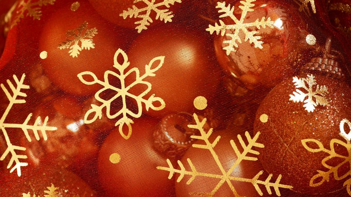 Adornos por navidad - 1366x768