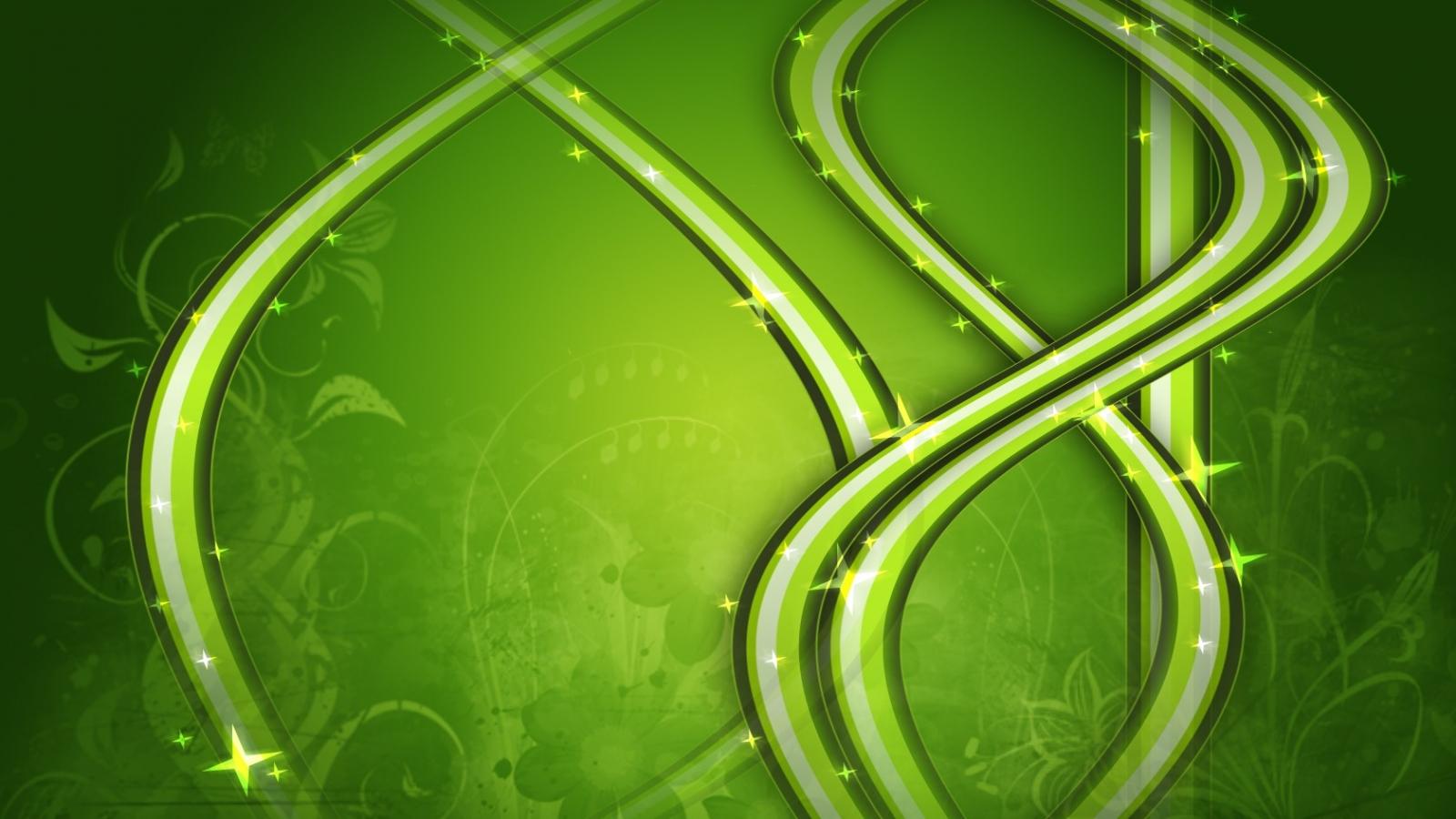Adornos verdes - 1600x900