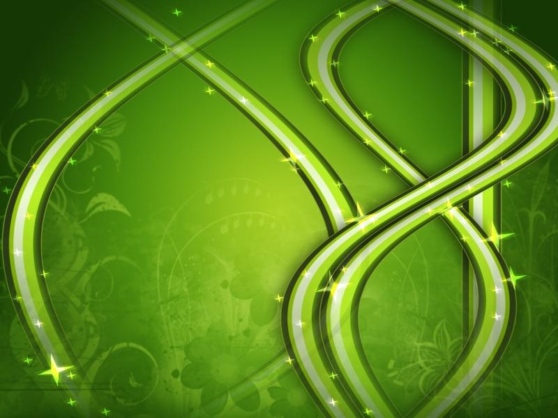 Adornos verdes - 800x600