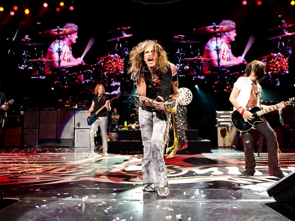 Aerosmith en concierto - 1024x768