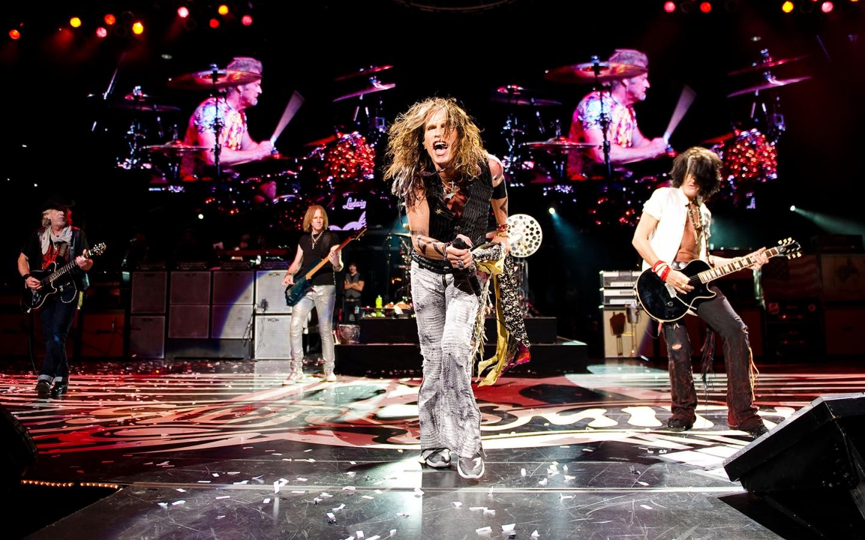 Aerosmith en concierto - 1440x900