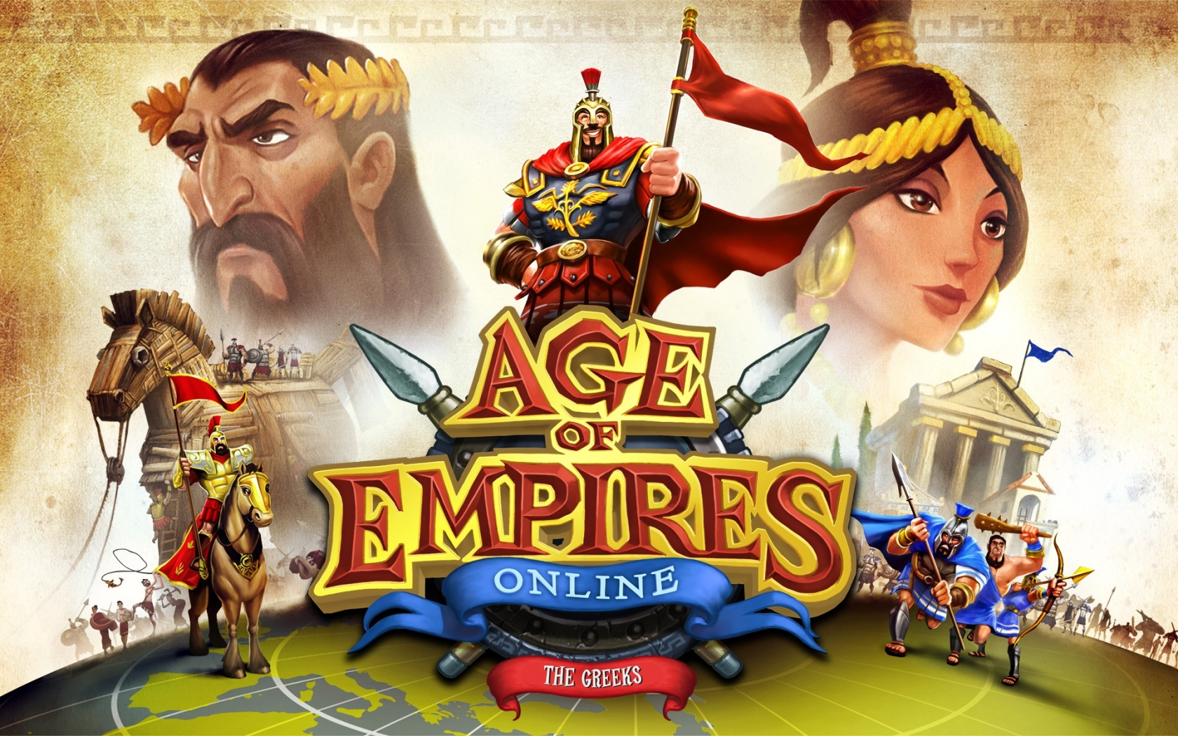 Age Of Empires online - 1680x1050