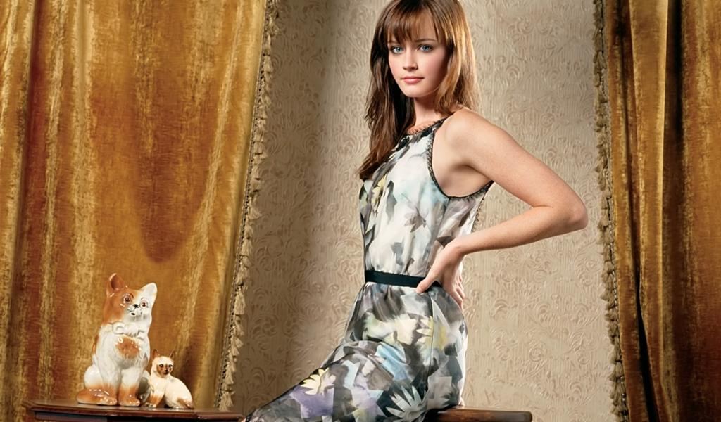 Alexis Bledel en vestido - 1024x600