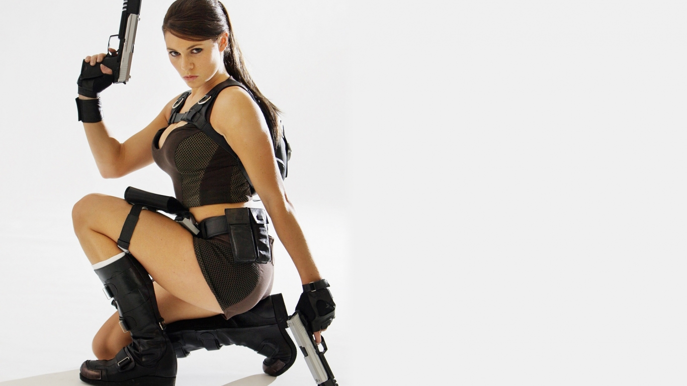 Alison Carroll, Tomb Raider - 1366x768