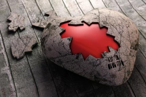 Un rompecabezas de corazón - 480x320