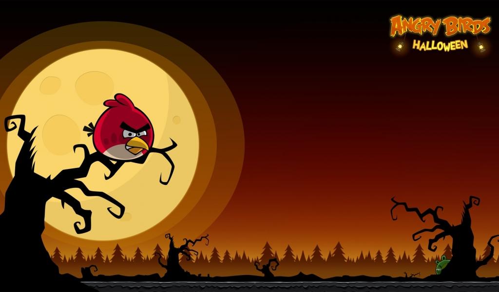 Angry Birds Halloween - 1024x600