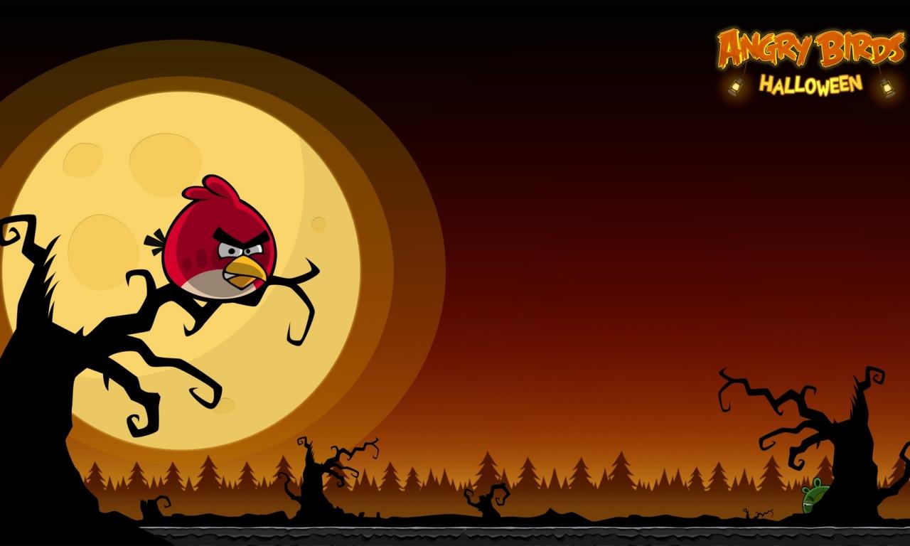 Angry Birds Halloween - 1280x768
