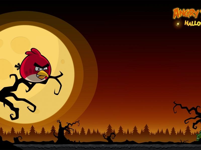 Angry Birds Halloween - 800x600