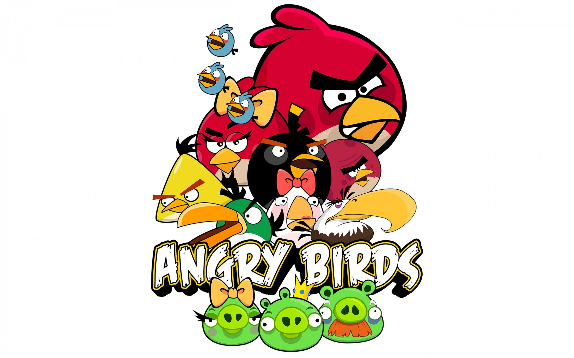 Angry birds juego ipad cartoon cartoons 1920x1200