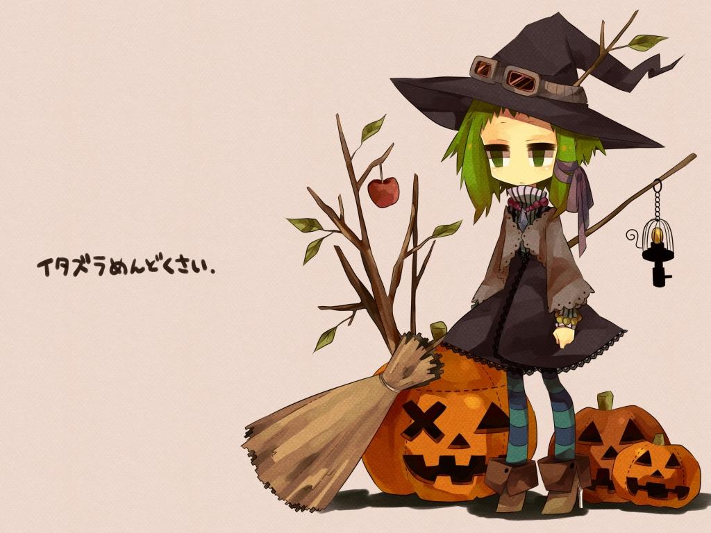 Anime Halloween - 1024x768