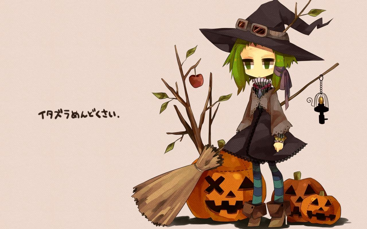 Anime Halloween - 1280x800