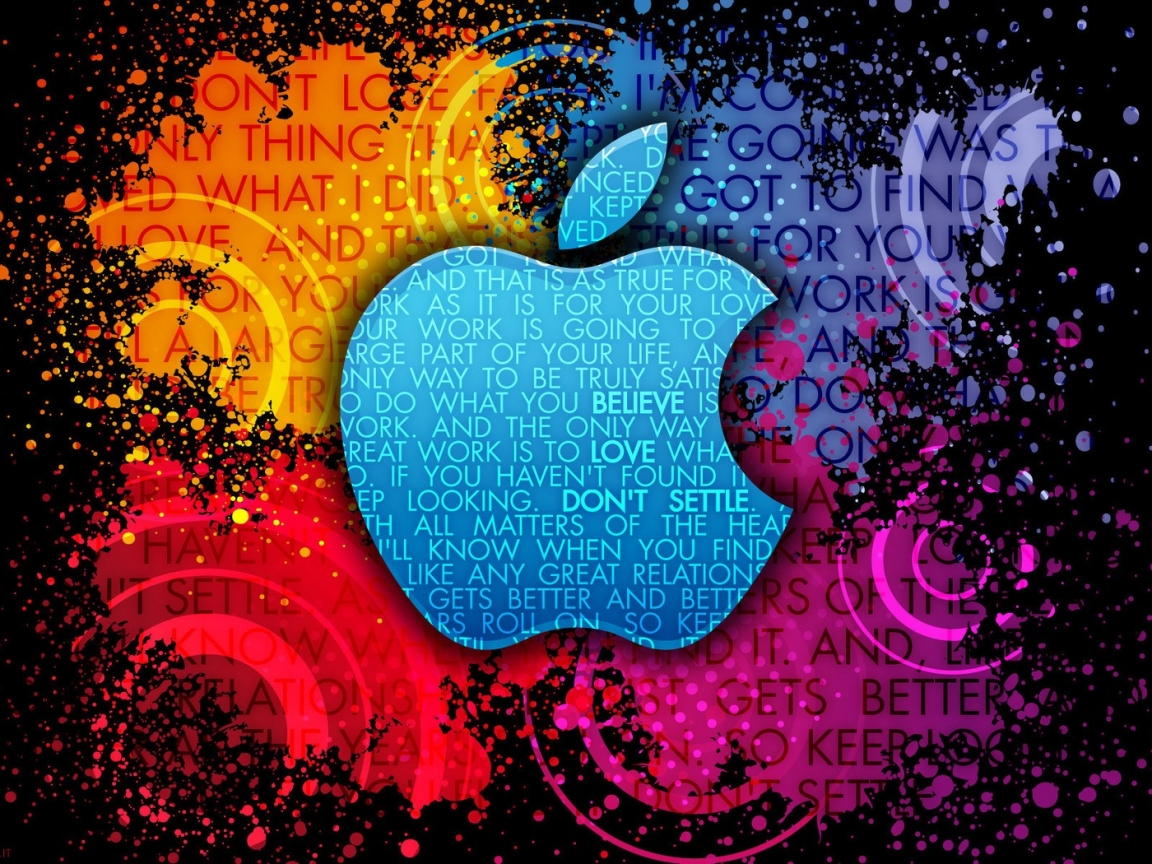 Apple Abstracto - 1152x864