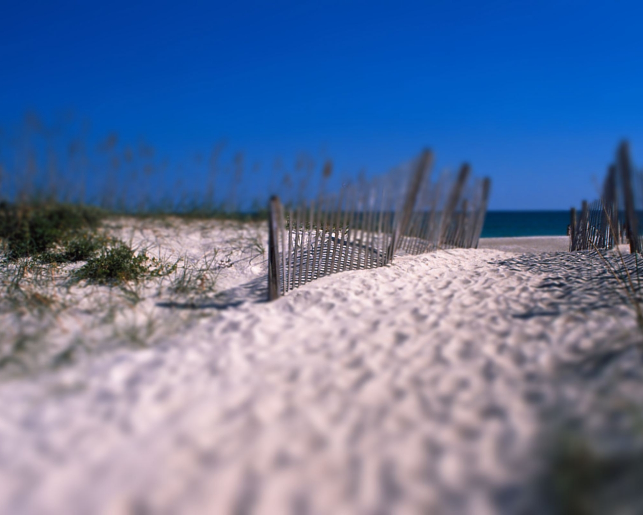 Arena en la playa - 1280x1024